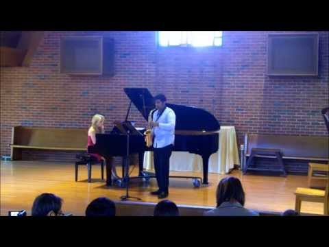 Settings by Carol Comune for Sax and Piano