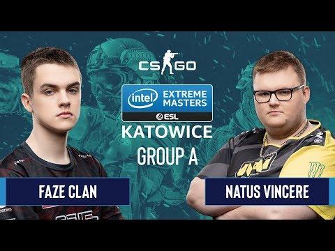NaVi vs FaZe Clan vod