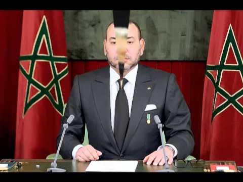 رسالة الهاكر المغربي الى القناة التانية (2M)