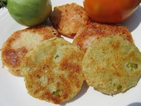 How do you make fried green tomatoes in the oven
