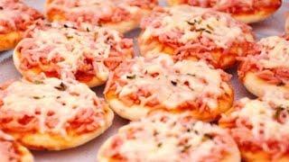 Receita de Mini Pizza 🍕 - Receita da Mamys💕