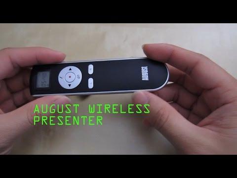 schermo vuoto//riprendi e uno scomparto per il ricevitore USB Tasti di scelta rapida per inizio//fine di una presentazione August LP170L Puntatore a penna senza fili con telecomando RF