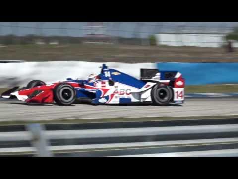 2017 Indycar Testing at Sebring