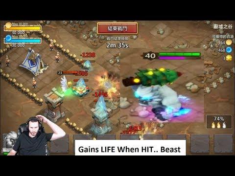 New Hero YETI GamePlay Freezing ABSOLUTE BEAST Castle Clash