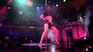 Ольга - Отчетный концерт Pole Dance в клубе