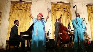 Buena Vista Social Club Orquesta at the White House