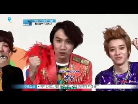 [Y!STAR][BaeShinHouse] Lee Kwang Soo, Jung Eun Ji, Niel Fanta CF Interview