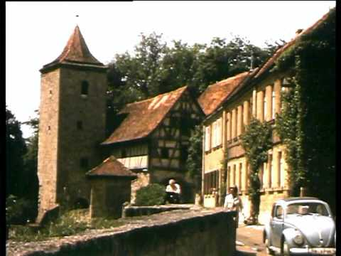Rothenburg ob der Tauber 1964