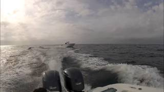 Sunrise Marine Presents Catching Air With A Cape Horn Offshore Boat
