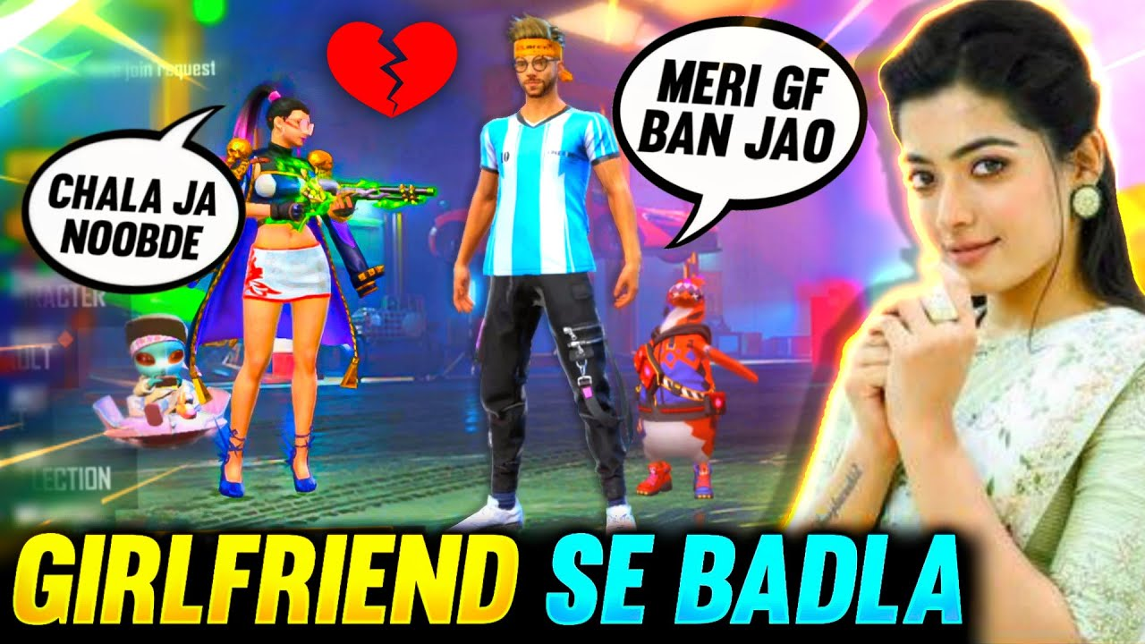 My Girlfriend Rejected Me😭 & Then This Happened😱 || BADLA 2.O || Garena Free Fire