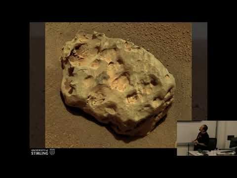 Alastair Tait - Meteorite Finds on Mars - 22nd Annual International Mars Society Convention