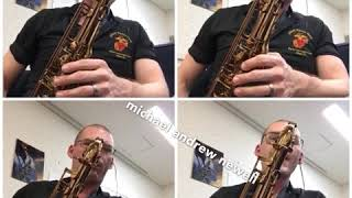 Between Rage and Glory (Saxophone Quartet - 4 Tenors)