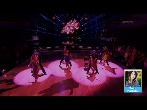 Dancing with the Stars 24 - Male Team Dance | LIVE 4-24-17