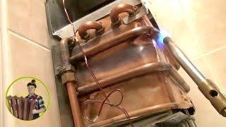 Пайка теплообменника газовой колонки 02(, 2013-12-14T13:45:12.000Z)