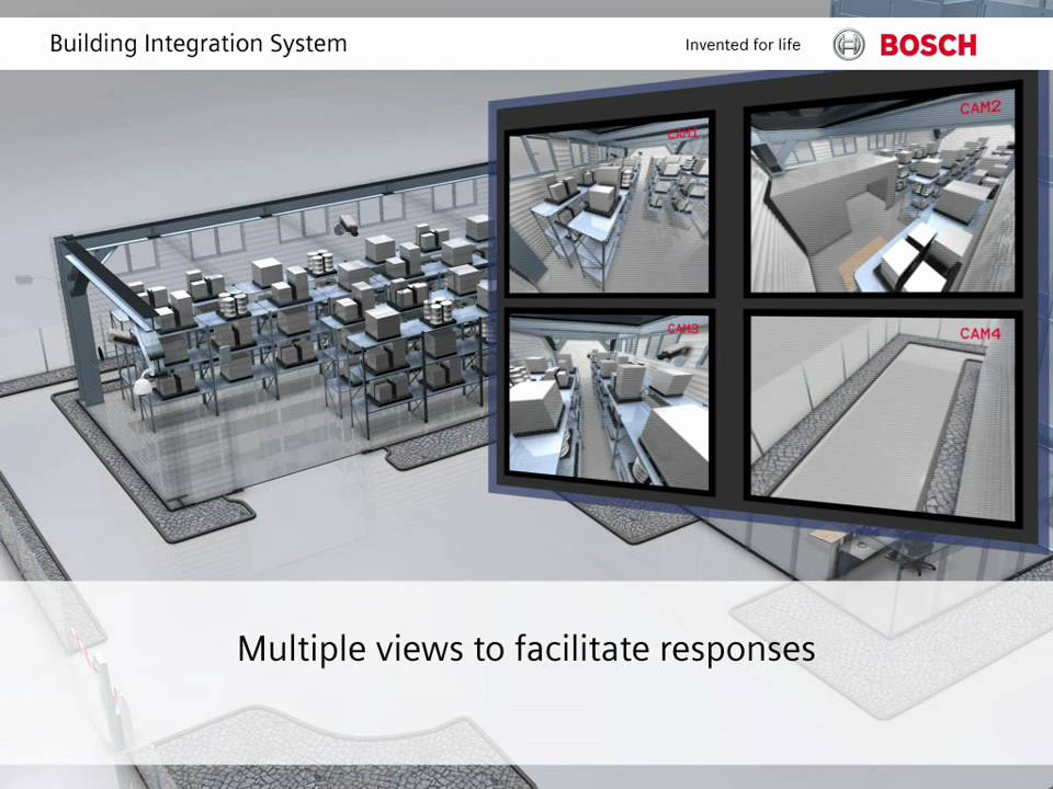 Bosch Security - Building Integration System