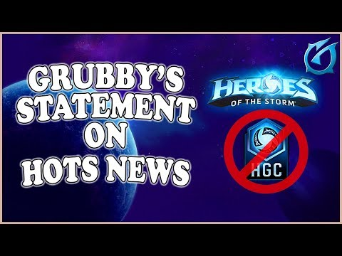 Grubby   Statement On HotS News