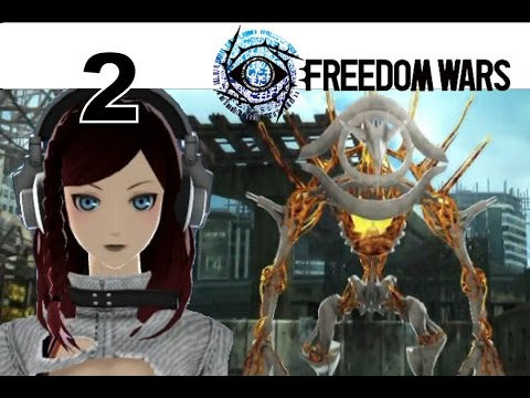 Freedom Wars - PS VITA Let's Play Walkthrough 2 - Re-Education Operations Training