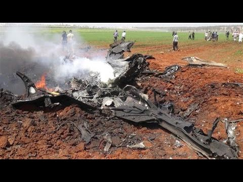 Rebels Shoot Down Syrian Warplane