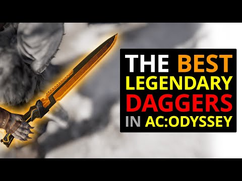 The BEST Legendary Daggers In Assassin's Creed Odyssey! thumbnail