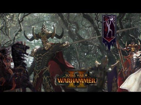 Lorehammer #7: Dark Elf Army - Lords, Heroes and Unit Breakdowns (Total War: Warhammer 2)