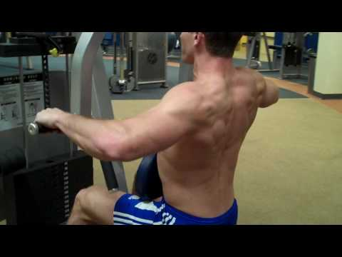 "How To: Row/Rear Delt (Cybex) ""Rear Delt"""