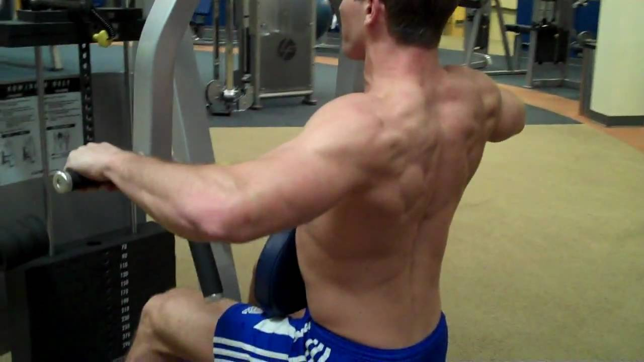 How To: Row/Rear Delt (Cybex) \
