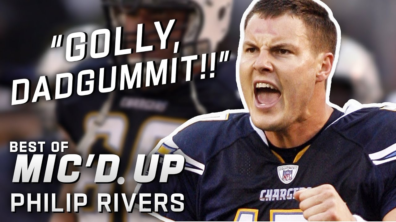 """Golly, dadgummit!!"" Best of Philip Rivers Mic'd Up!"