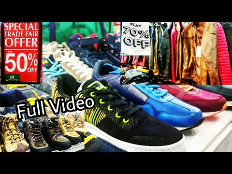 TRADE FAIR | Heavy Discount on Shoes, Jackets & much more !! [Full Tour] | DELHI | Tushar 51NGH