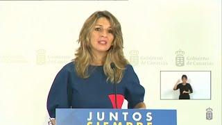"""Díaz sobre Juan Carlos I: """"La imagen es muy mala para nuestro país"""""""