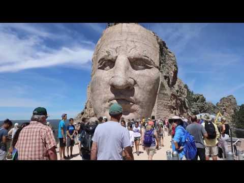 Crazy Horse Memorial Annual June 2017 Volksmarch