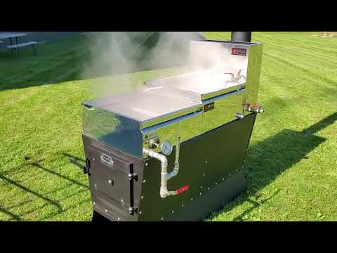 The Dauntless High Performance Hobby Maple Syrup Evaporator. Video 3 of 3.