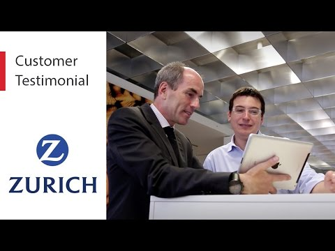 Zurich Insurance Group Mobile App Platform Customer Testimon