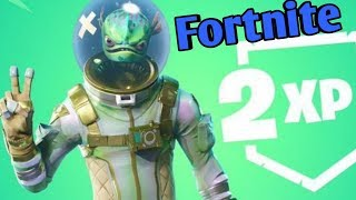 2XP ON FORTNITE GET LEVEL 100 BEFORE ITS TOO LATE LIVE ON XBOX ONE X