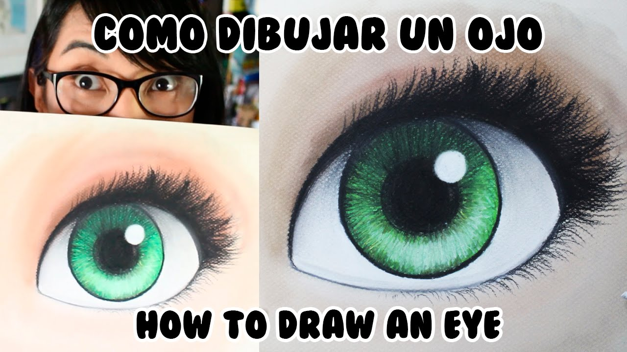 C mo dibujar un ojo con colores pastel english subs - Diana de colores ...