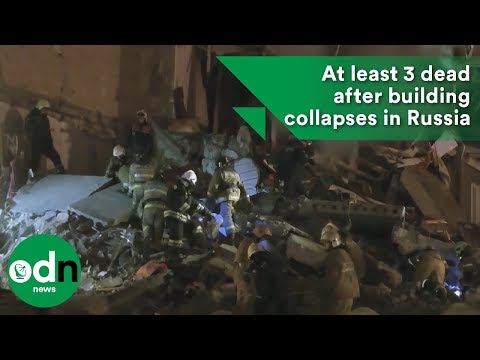At least 3 dead after building collapses in Russia