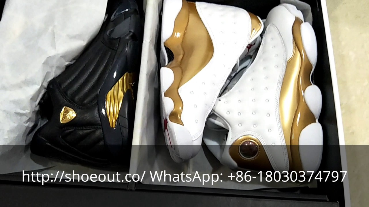 Heavy sale! AIR JORDAN 13 14 DMP Defining Moments PACK 2017 - YouTube 2572b552a
