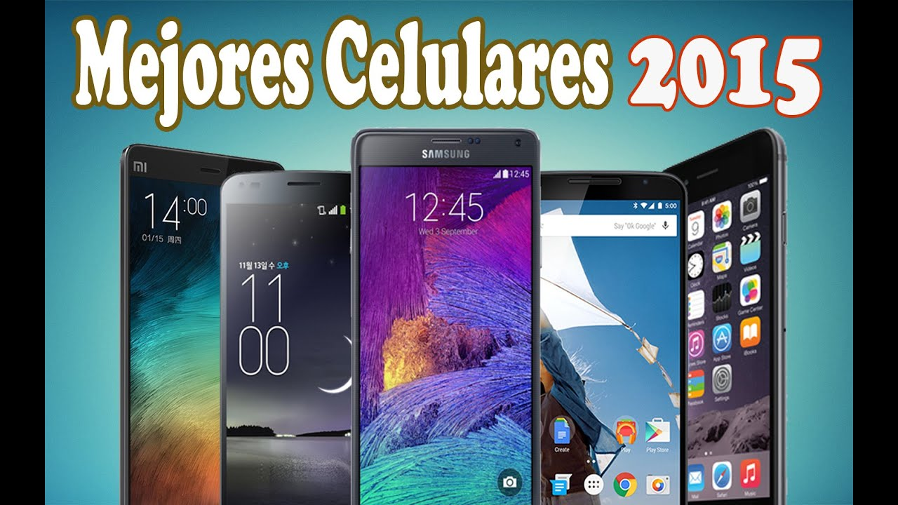 Top 10 mejores tel fonos m viles 2015 que celular for Moviles modernos
