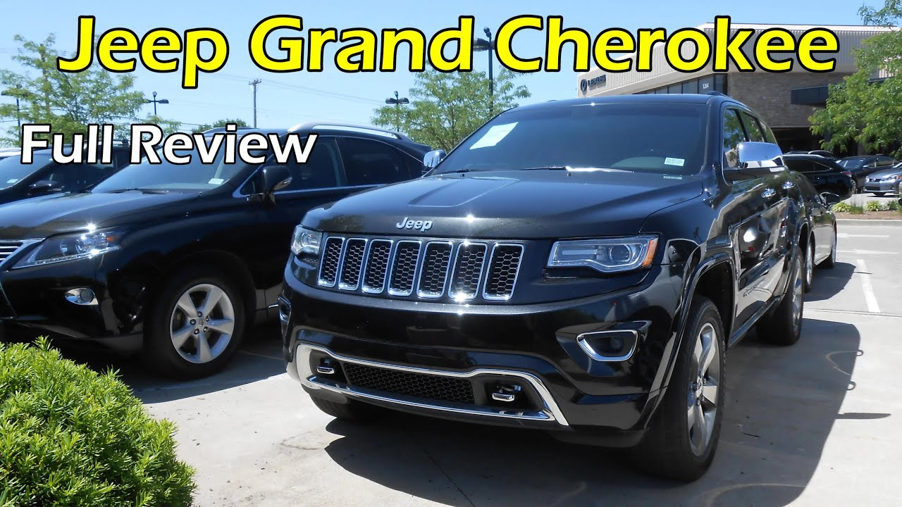 Delightful 2014 / 2015 Jeep Grand Cherokee Overland: Full Review   YouTube