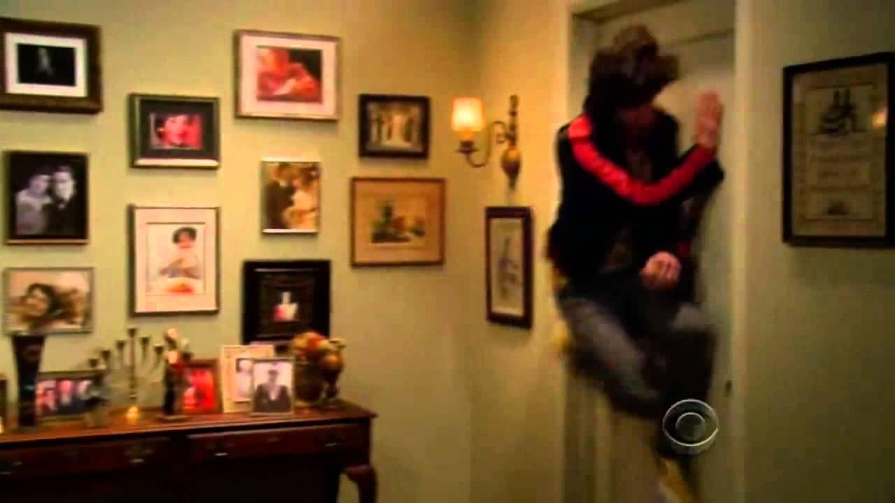 Banging On The Bathroom Door. Howard Vs The Door The Big Bang Theory
