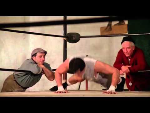 Rocky (1976): Rocky training montage