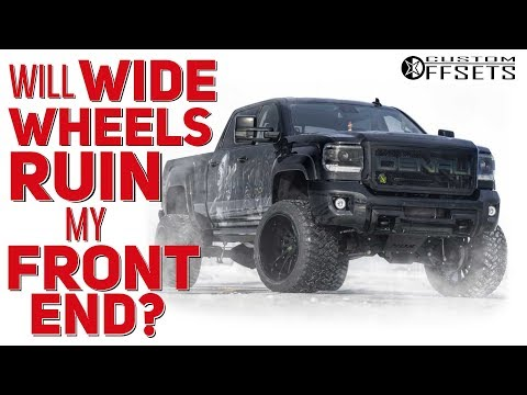 Will Wide Wheels Ruin My Front End? || From The Inbox