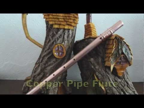 Copper pipe flute
