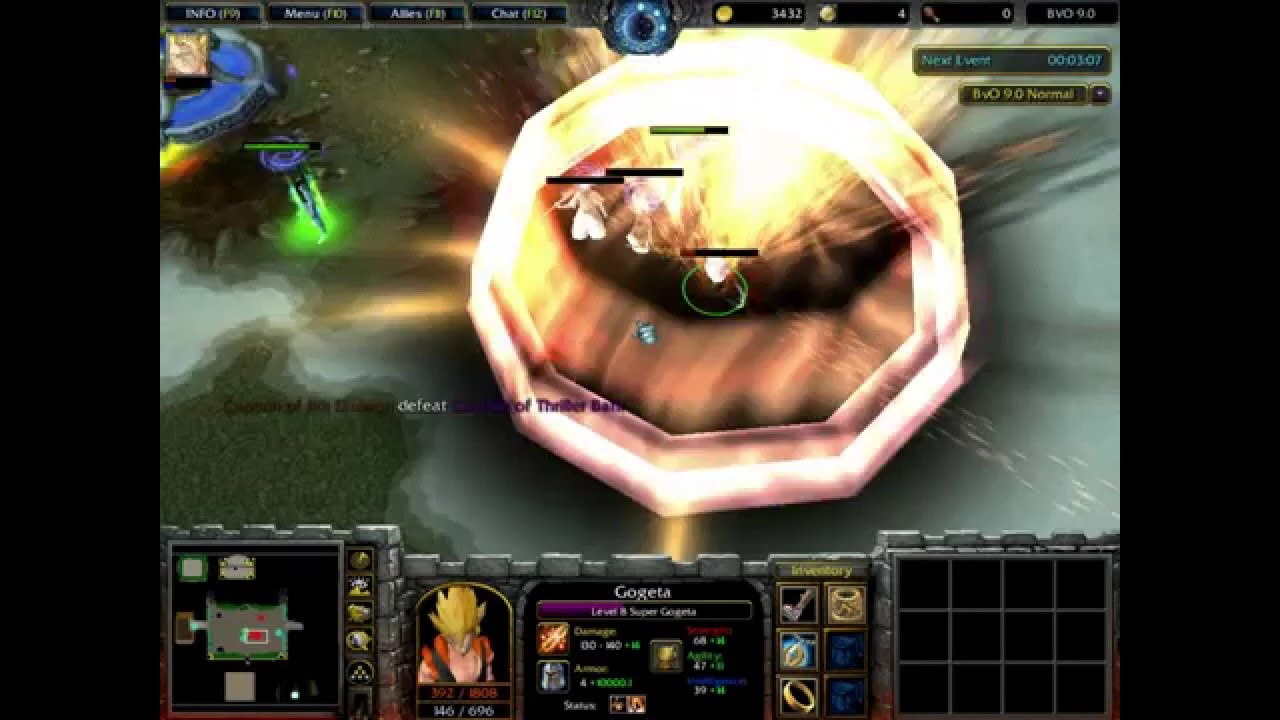 download map warcraft 3 frozen throne naruto vs bleach ai