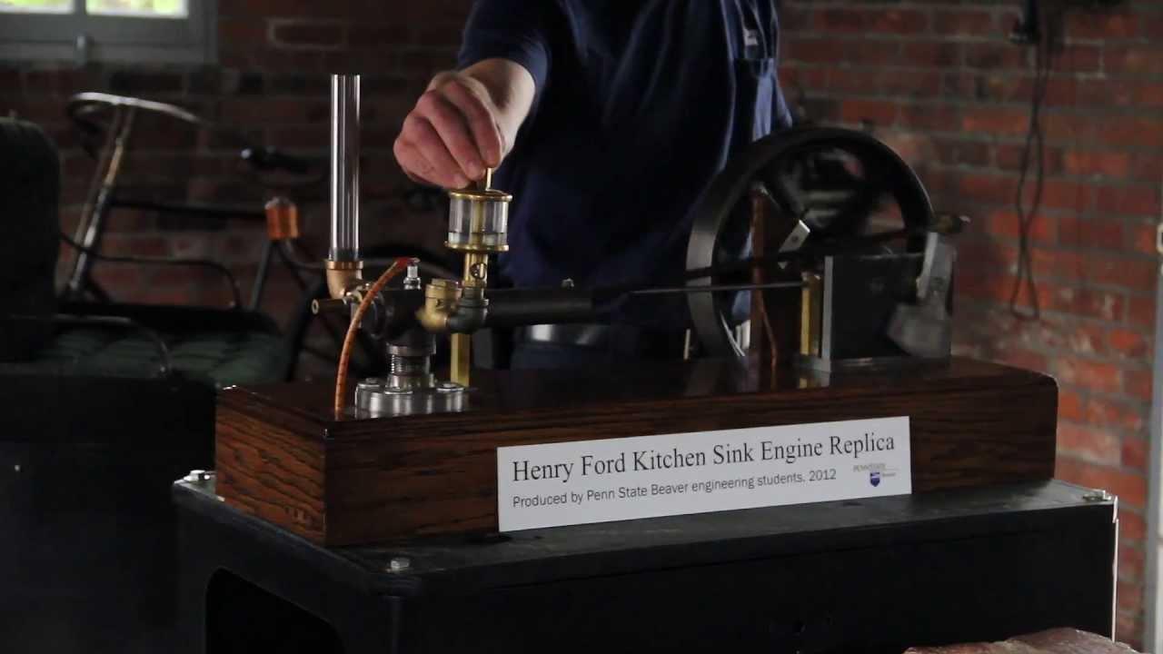 Kitchen Sink Engine At Greenfield Village Youtube