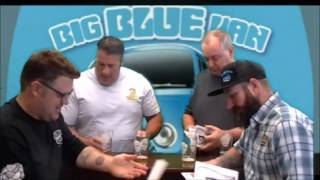 We Love #CraftBeer Show Review of Big Blue Van Blueberry Ale from College Street Brewing
