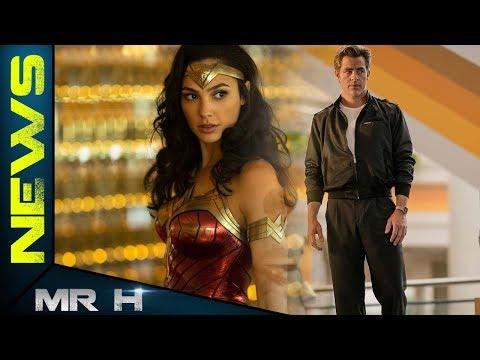 Wonder Woman In Full Costume REVEALED Wonder Woman 1984
