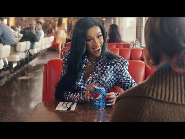 Cardi B Wore 500 Swarovski Crystals On Her Nails For Super Bowl Pepsi Ad