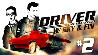 Driver: San Francisco | EP 2 | MORE MULTIPLAYER!!(Hey Guys! ♢♢♢ http://bit.ly/SubscribeToFinGames ♢♢♢ Means a lot! :) Hope you enjoyed - and if you did please give the video a thumbs up and subscribe!, 2015-02-09T22:19:00.000Z)