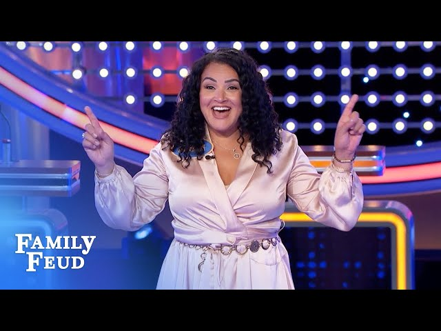 Is Athena's big score enough for $20K? | Family Feud