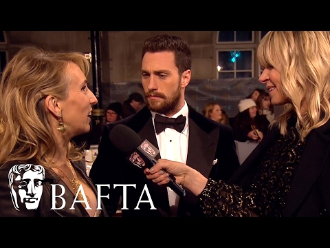 Sam & Aaron Taylor-Johnson Red Carpet Interview | BAFTA Film Awards 2017
